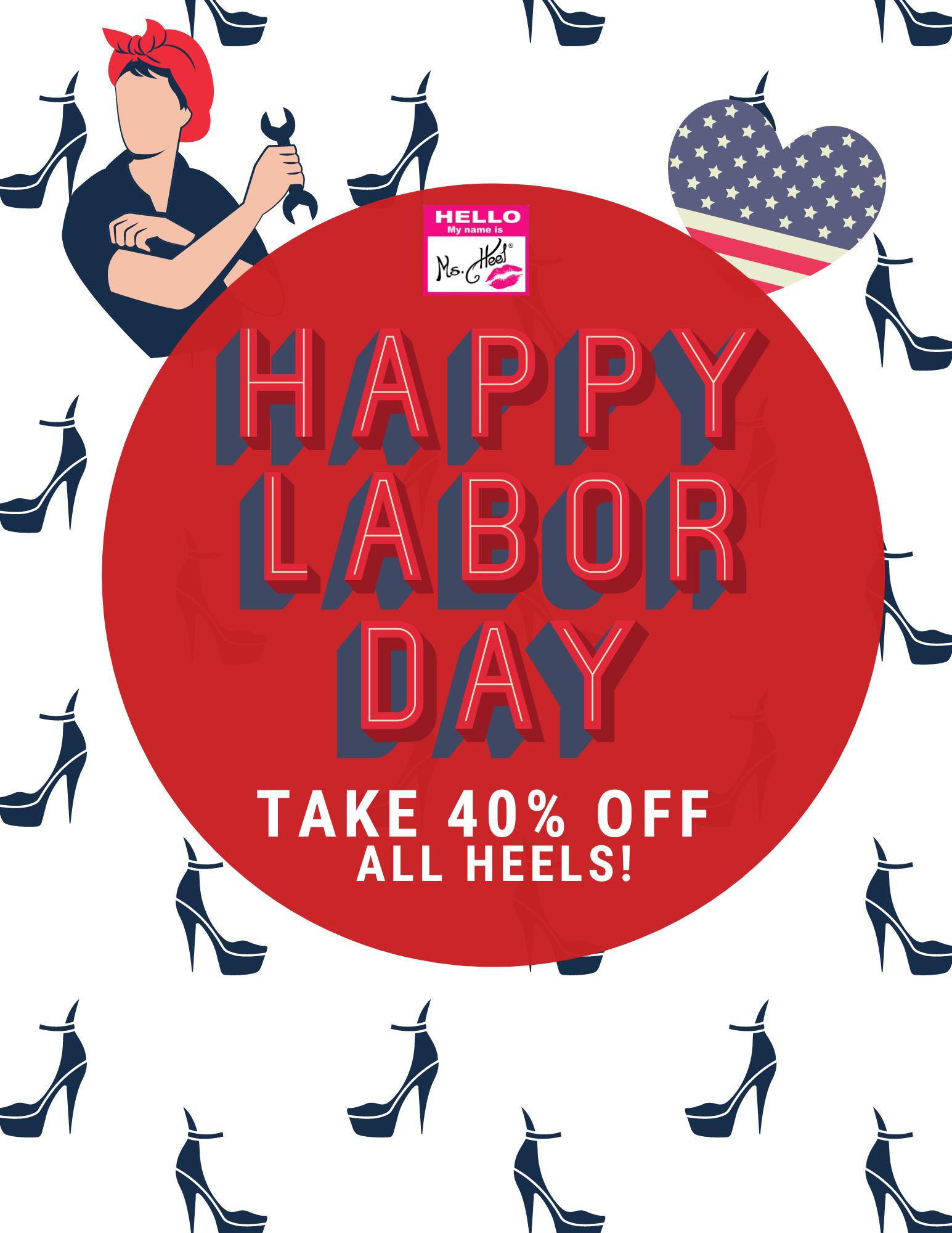 40% off all heels at Ms. Heel Magazine!