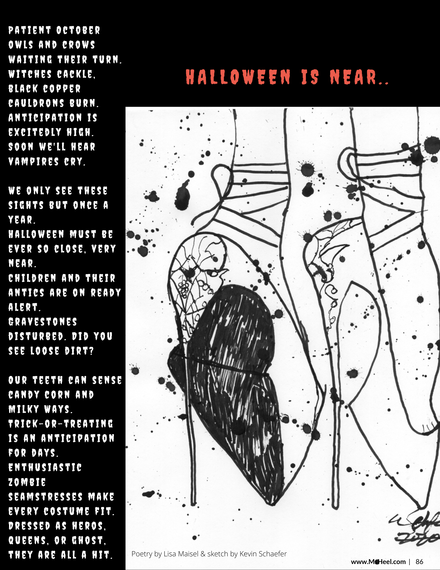 Halloween is near...have no fear. A Halloween poem