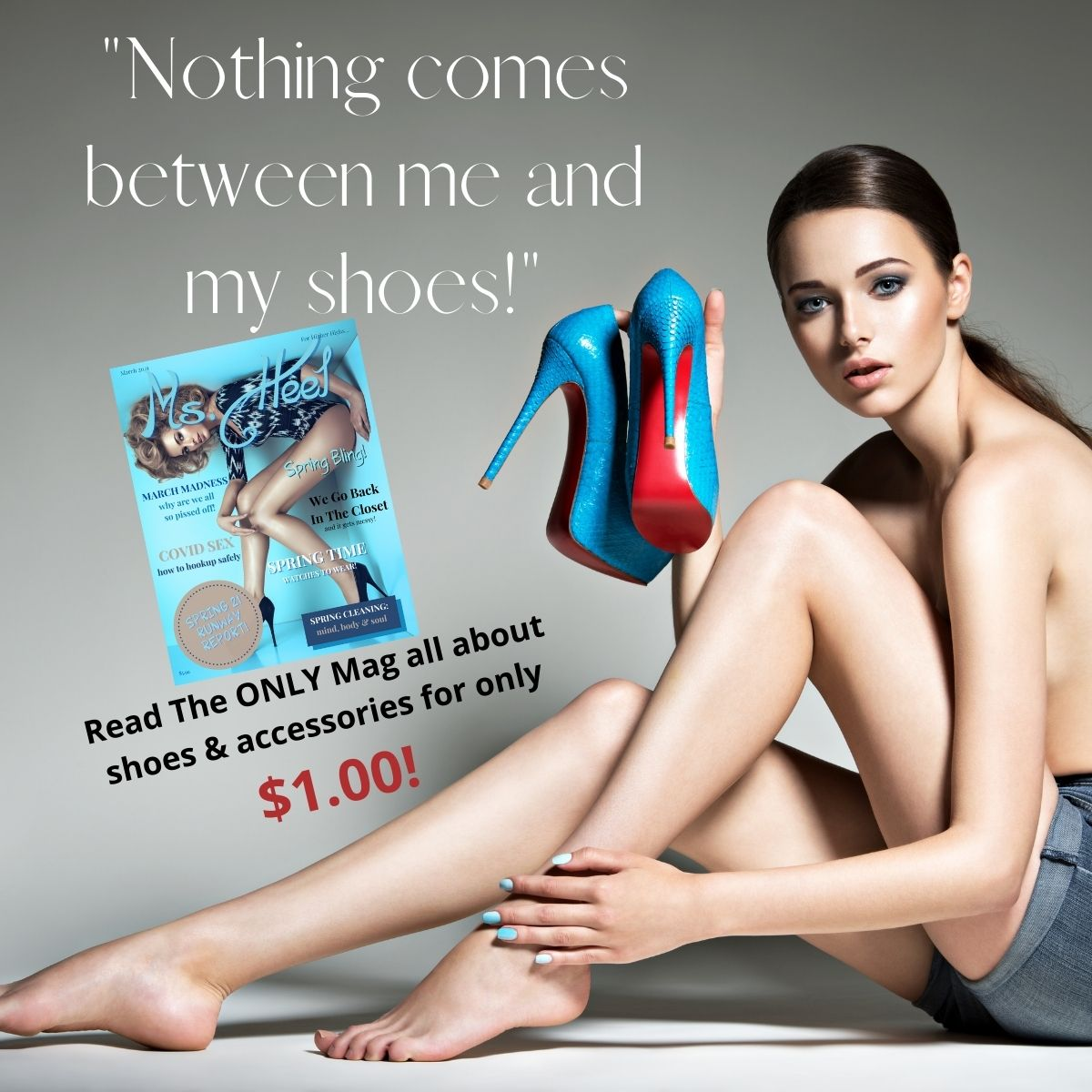 Ms. Heel Magazine--The ONLY mag all about shoes and accessories